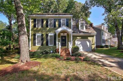 Raleigh Single Family Home For Sale: 2224 Brisbayne Circle