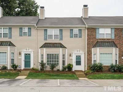 Cary NC Townhouse For Sale: $174,900