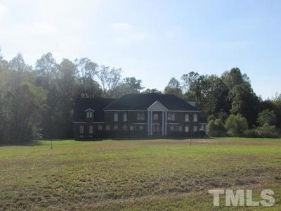 Wendell Single Family Home For Sale: 6324 Old Mill Farm Road