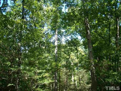 Moncure Residential Lots & Land Pending: 1297 Chatham Church Road