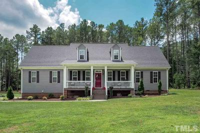 Raleigh Single Family Home For Sale: 2637 Mt Vernon Church Road