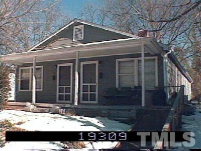 Raleigh Multi Family Home For Sale: 116 & 118 Hill Street