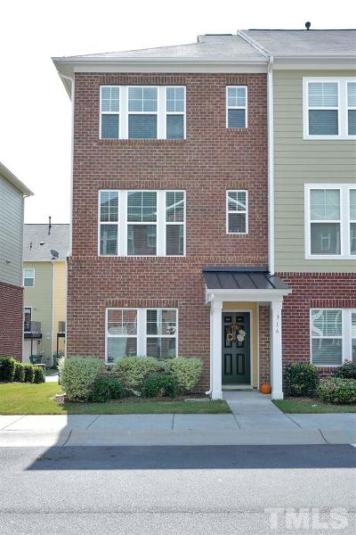 Cary NC Townhouse For Sale: $229,900