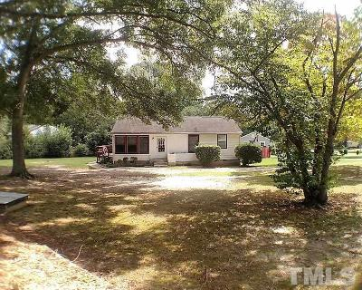 Garner Single Family Home Contingent: 1002 Southerlund Road