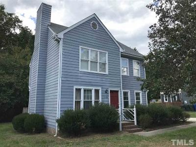 Raleigh Single Family Home For Sale: 1728 Vintage Road