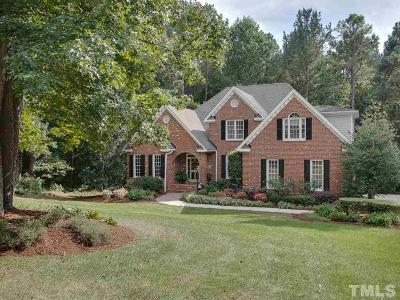 Wake County Single Family Home For Sale: 576 Vista Del Lago Lane