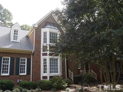 Raleigh, Cary Townhouse For Sale: 503 Van Thomas Drive