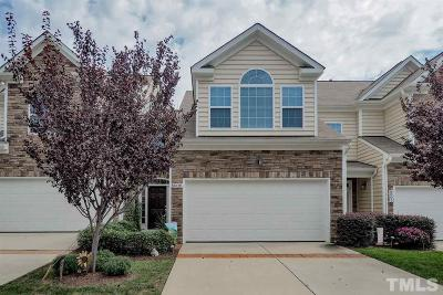 Raleigh, Cary Townhouse For Sale: 8006 Upper Lake Drive