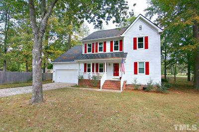 Morrisville Single Family Home Contingent: 103 Eastchase Court