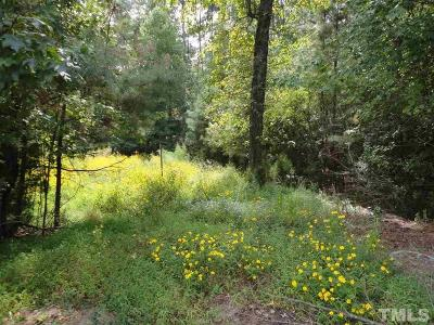 Sanford NC Residential Lots & Land For Sale: $42,000