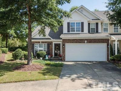 Raleigh, Cary Townhouse For Sale: 3420 Archdale Drive