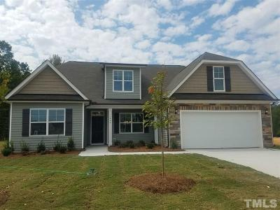 Knightdale Single Family Home Pending: 5400 Weathered Rock Court