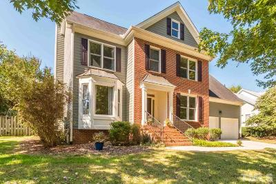 Chapel Hill Single Family Home Contingent: 317 Sunset Creek Circle