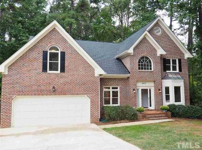 Raleigh Single Family Home For Sale: 8610 Windjammer Drive
