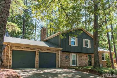 Raleigh Single Family Home For Sale: 5808 Timber Ridge Drive