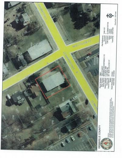 Granville County Commercial For Sale: 201 New College Street