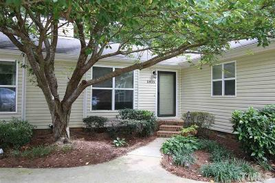 Raleigh, Cary Townhouse For Sale: 5935 Westcreek Place
