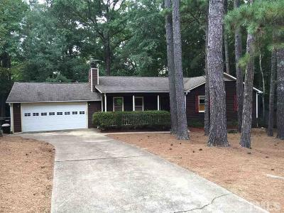Wake County Single Family Home For Sale: 11129 Crestmont Drive