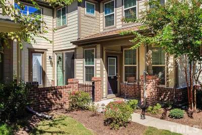 Brier Creek Townhouse For Sale: 9301 Alcazar Walk