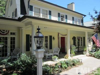 Hayes Barton Single Family Home For Sale: 1804 St Marys Street