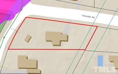 Wake County Residential Lots & Land Pending: 2911 Churchill Road