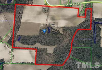 Johnston County Residential Lots & Land For Sale: 4636 Bryant Pond Road
