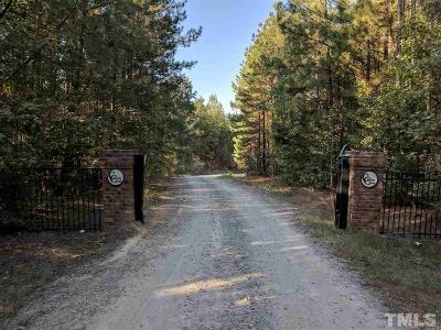 Apex Residential Lots & Land For Sale: 405 Canyon Creek Way
