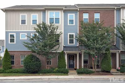 Raleigh NC Townhouse Contingent: $255,000