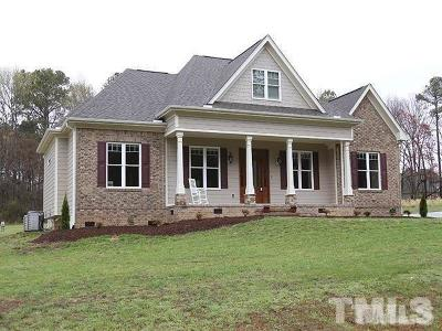 Henderson NC Single Family Home For Sale: $329,500