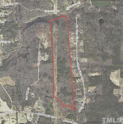 Wake County Residential Lots & Land For Sale: 5333/000 Mitchell Mill Road