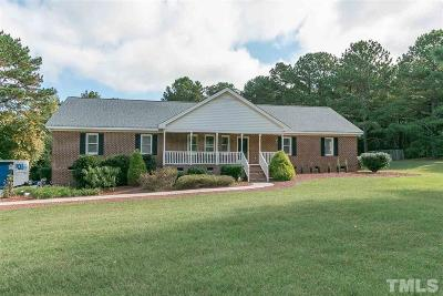 Wake Forest Single Family Home Pending: 1201 Chalk Road