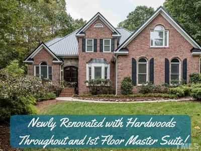 Raleigh Single Family Home For Sale: 5704 Wild Orchid Trail
