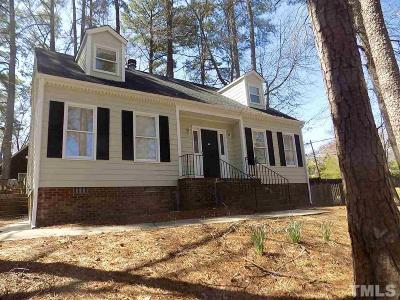 Durham Single Family Home For Sale: 3623 Barcelona Avenue