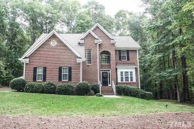 Hillsborough Single Family Home For Sale: 903 Hardscrabble Drive