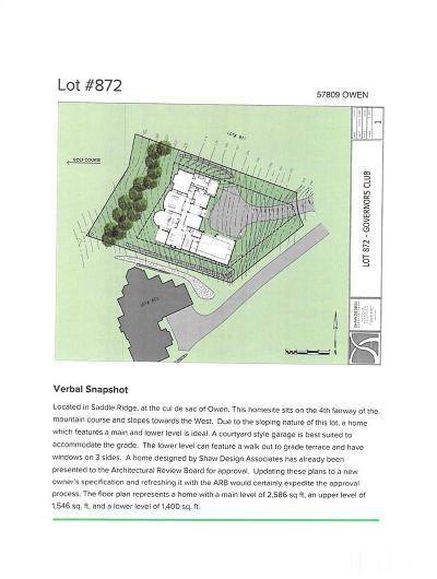 Chatham County Residential Lots & Land For Sale: 57809 Owen