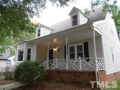 Durham Single Family Home For Sale: 8 Boxwood Drive