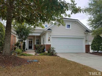 Cary Single Family Home Contingent: 105 Brookesby Court