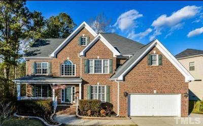 Wake Forest Single Family Home For Sale: 5945 Jones Farm Road