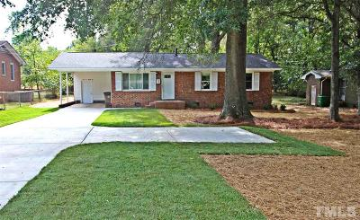 Wake Forest Single Family Home For Sale: 556 N White Street