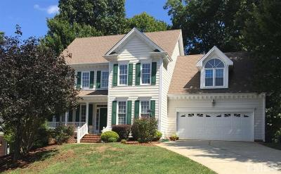 Cary Single Family Home For Sale: 306 Tibbetts Rock Drive