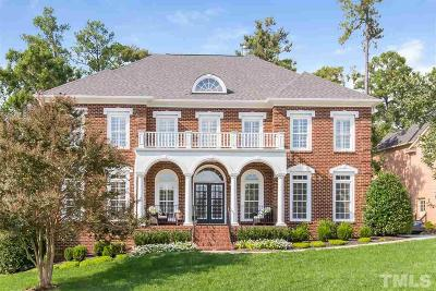Cary Single Family Home Pending: 2127 Crigan Bluff Drive