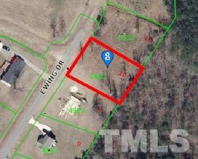 Johnston County Residential Lots & Land For Sale: 260 Ewing Drive