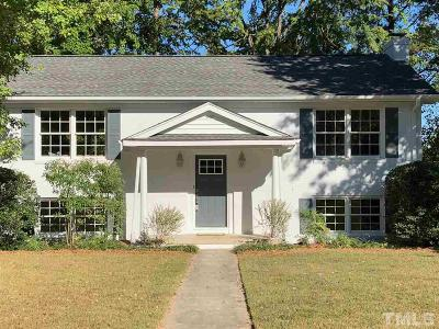 Raleigh Single Family Home For Sale: 4500 Lakemont Drive