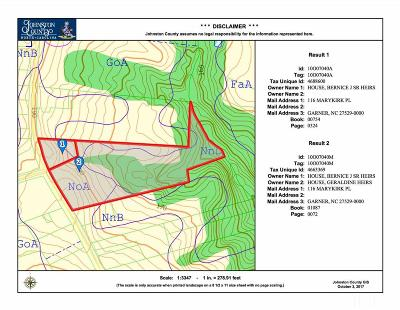 Johnston County Residential Lots & Land For Sale: 0 & 1859 Bizzell Grove Church Road