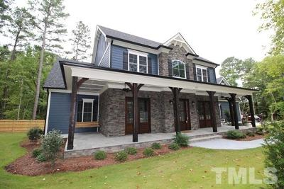 Apex Single Family Home For Sale: 2221 Olive Chapel Road