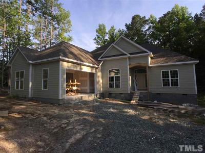 Pittsboro Single Family Home For Sale: 250 Roads End