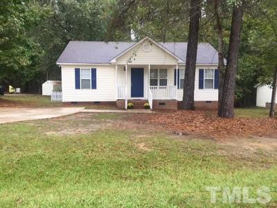 Knightdale Single Family Home For Sale: 1029 Spawn Place