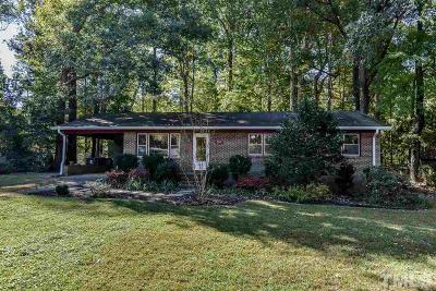 Chapel Hill Single Family Home Contingent: 106 Woodcrest Drive