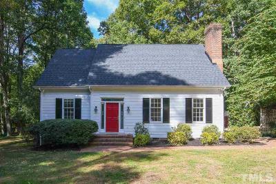 Chapel Hill Single Family Home For Sale: 108 Foxridge Road