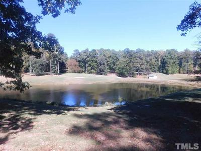 Chatham County Residential Lots & Land For Sale: 648 Willow Way